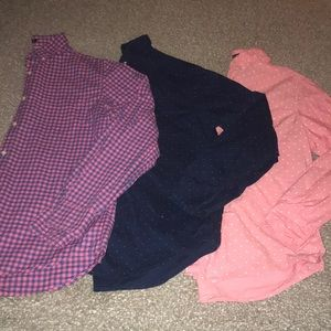 Men's American Eagle Button-Down Bundle